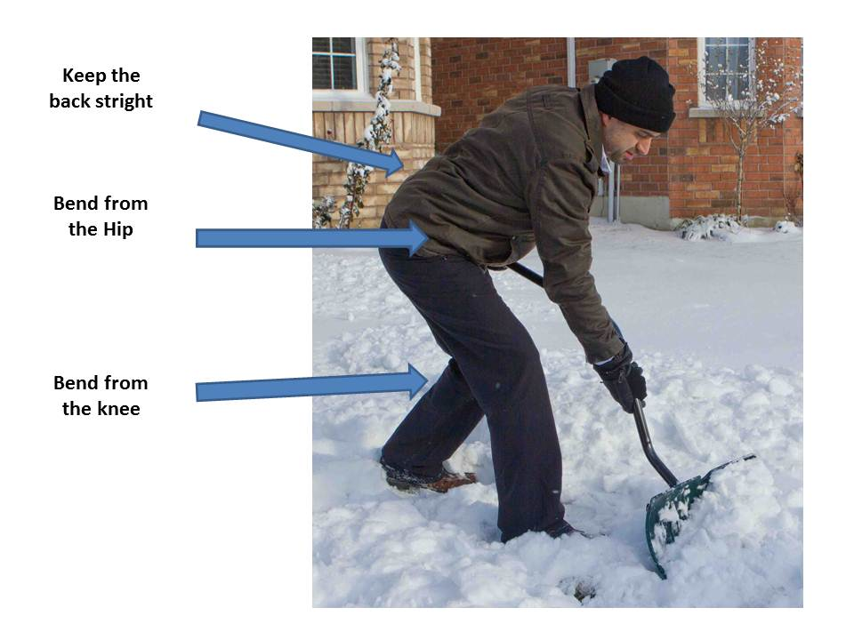 Injury Free Shoveling