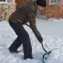 Lower back pain and snow shoveling
